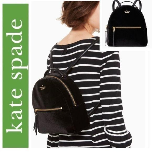 Kate Spade Dawn Place Velvet Sammi Backpack